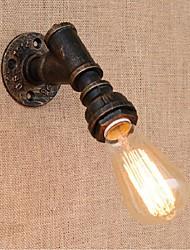 economico -ac 220v-240v 40w e27 bg813 nostalgia semplice tubo di acqua luce murale decorativo piccola lampada da parete