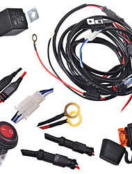 cheap -KAWELL 2 Legs Wiring Harness Include Switch Kit Suppot 300W LED work light LED Light Bar Wiring Harness and Switch Kit