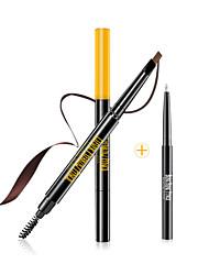 Augenbrauen Malerei Schimmer Farbiger Lipgloss / Lang anhaltend Grau / Kaffee Augen 1 1