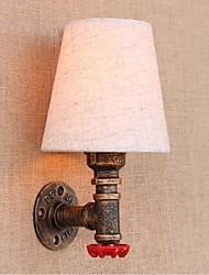 Недорогие -AC 220v-240v 3w e27 bg081 деревенское / лоджии латуни особенность для лампы includedambient света стены бра настенный светильник