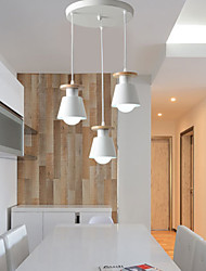 40w Pendant Light ,  Modern/Contemporary Painting Feature for Designers Metal Living Room / Bedroom / Dining Room / Kitchen / Kids Room