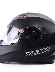 yema 829 Celoroční motocyklové helmy plná helma zimní motocyklové závody automobilů helmy