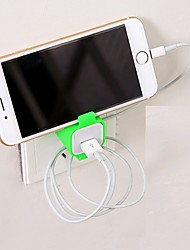 Bobbin WinderHolder Hangs Charger Charging Rack for Mobile Phone (Random Color)