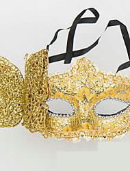 1pc le masque de princesse pour costume de halloween couleur aléatoire