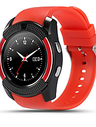 V8 Smart Round Full-Screen Card Bluetooth Touch Screen Sports Business Smart Fashion Wear