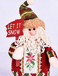 Père Noël wapitis décorations de bonhomme de neige poupée articles d'ameublement tendance est aléatoire