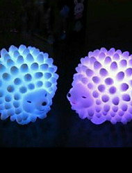 cheap -LED Changeable Color Hedgehog Night Light Baby Lamp Desk Lamp