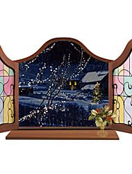 Architettura / Floreale / Paesaggio Adesivi murali Adesivi aereo da parete Adesivi decorativi da parete,PVC MaterialeLavabile /