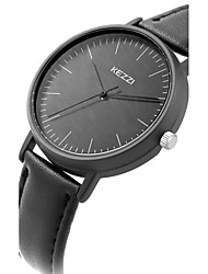 cheap -Kezzi® Ladie's/Women's Fashion Simple Casual Quartz Watch Leather Belt Round Alloy Dial Wrist Watch Cool Watch Unique Watch