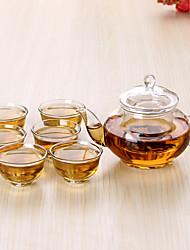 Недорогие -чашка Повседневные / Чайный / Подарок Подарок,стекло 1