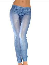 cheap -Women Solid Color / Print / Denim LeggingPolyester/hot sale/brand fashion/high quality