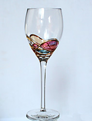 Недорогие -изделия из стекла Стекло,Red Wine Goblet 6.6*22.3CM Champagne Glass25*5.0CM Вино Аксессуары