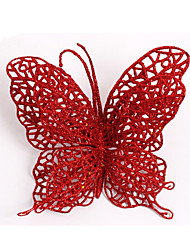 cheap -15Cm Christmas Butterfly Shedding Christmas Ornaments Christmas Ornaments Christmas Tree Decoration Butterfly Supplies
