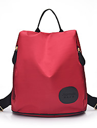 Women Bags All Seasons Nylon Backpack for Shopping Casual Outdoor Black Purple Fuchsia Red Blue