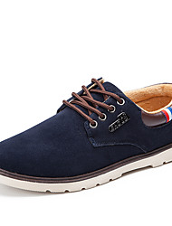 cheap -Men's Shoes Nubuck leather Spring Summer Fall Winter Fashion Boots Sneakers Walking Shoes Split Joint For Casual Outdoor Office & Career