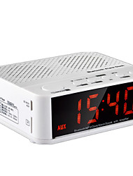 cheap -Wireless Bluetooth Speaker Home Bed Head Mini - Audio Clock Alarm Portable Car Hands - Free Calls Card Radio