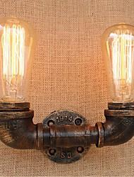 economico -ac 220v-240v 40w e27 bg804-2 nostalgia semplice tubo di acqua luce murale decorativo piccola lampada da parete