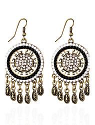 economico -Orecchino Strass / imitazione Opale Circolare Orecchini a bottone / Orecchini a goccia Gioielli Da donna Tasselli / stile della Boemia