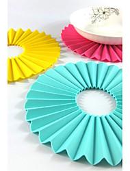 Multifunction Desktop Mats Silicone Insulation Pad Anti-slip Mat Anti-scalding Heat Coasters Bowls Potholder (Random Color)