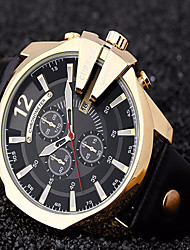 cheap -CURREN® Relogio Masculino  Men Watches Luxury Popular Brand Watch Man Big Dial Quartz Gold Watches Men Clock Men's Watch