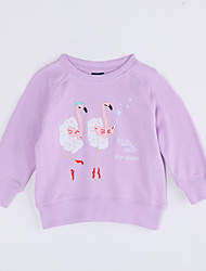 cheap -Infant Girls' Animal Long Sleeve Cotton Blouse