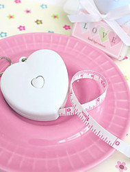 cheap -1pcs Heart Tape Measure Keychain Party Beter Gifts
