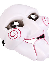 Недорогие -Маски на Хэллоуин Джокер / Ужасы пластик / ПВХ 1 pcs Куски Взрослые Подарок
