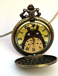 baratos -Relógio Inspirado por Meu Vizinho Totoro Eren Jager Anime Acessórios para Cosplay Relógio Liga Homens
