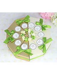 10 Piece/Set Favor Holder-Cylinder Card Paper Favor Boxes Non-personalised
