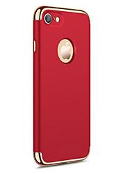 Für iPhone X iPhone 8 iPhone 7 iPhone 6 iPhone 5 Hülle Hüllen Cover Beschichtung Rückseitenabdeckung Hülle Volltonfarbe Hart PC für Apple