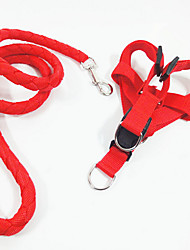Недорогие -Собака Ремни Безопасность Однотонный Джинса Черный Красный Зеленый