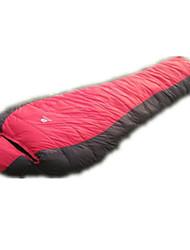 preiswerte -Schlafsack Mumienschlafsack Daune Enten Qualitätsdaune -15°C Tragbar Regendicht Klappbar Versiegelt 180X30 Camping Doppelbett(200 x 200)