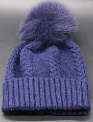 Women's Wool Beanie/Slouchy,Casual Fall Winter