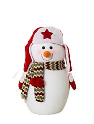 Недорогие -Снеговик Рождественский декор Милый Мультяшная тематика Высокое качество Мода Плюш Мальчики Девочки Игрушки Подарок 3 pcs