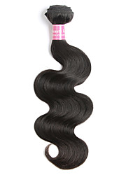 cheap -Indian Hair Body Wave Virgin Human Hair Natural Color Hair Weaves 1 Bundle Human Hair Weaves Natural Black Human Hair Extensions