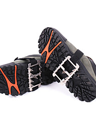 FID Outdoor Wear Resistant Ten Teeth Stainless Steel Non Slip Shoes Cover/Chain Of Mountaineering Crampon