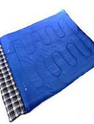 Sleeping Bag Rectangular Bag Double 10 Down50 Camping Traveling IndoorWaterproof Rain-Proof Windproof Well-ventilated Foldable Portable