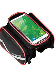 Roswheel Bicycle Mobile Phone Pouch 6 inch Touch Screen Top Frame Tube Storage Bag Cycling MTB Road Bike Bycicle