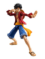 Anime Action-Figuren Inspiriert von One Piece Monkey D. Luffy Anime Cosplay Accessoires Zahl Rot PVC