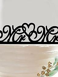 Bryllup Fødselsdag Bryllupsfest Akryl Bryllup Dekorationer Forår Sommer Efterår Vinter