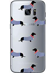 For Samsung Galaxy S6 Edge Plus S6 Dog 1 Soft Material For Compatibility TPU For Samsung Galaxy S6 Edge Plus S6 S7 Edge S7