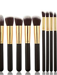 billige -Make-up pensler Professionel Brush Sets Syntetisk Hår Bærbar / Professionel Træ
