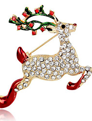 Mai polly Weihnachten Hirsch Brosche
