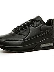 Da donna-Sneakers-Casual-Comoda-Piatto-Tulle-Nero Verde Rosso Bianco