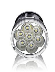 Lanternas LED LED 3000 Lumens 3 Modo Baterias não incluídas Impermeável Super Leve Alta Intensidade Regulável para Campismo / Escursão /