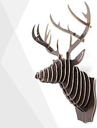 Недорогие -Животные Дерево Модерн / Античный,Подарки В помещении Декоративные аксессуары
