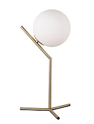 cheap -40 Modern/Comtemporary Table Lamp , Feature for Arc , with Electroplated Use On/Off Switch Switch