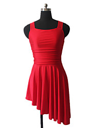 cheap -Ballet Dresses Women's Training Nylon / Lycra Criss-Cross Sleeveless Dress