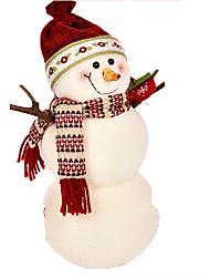baratos -Boneco de neve Decorações Natalinas Adorável Desenho Alta qualidade Fashion Têxtil Para Meninos Para Meninas Brinquedos Dom