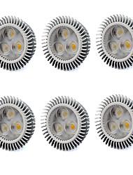 GU5.3(MR16) Lâmpadas de Foco de LED MR16 3 LED de Alta Potência 560 lm Branco Quente Branco Frio K V